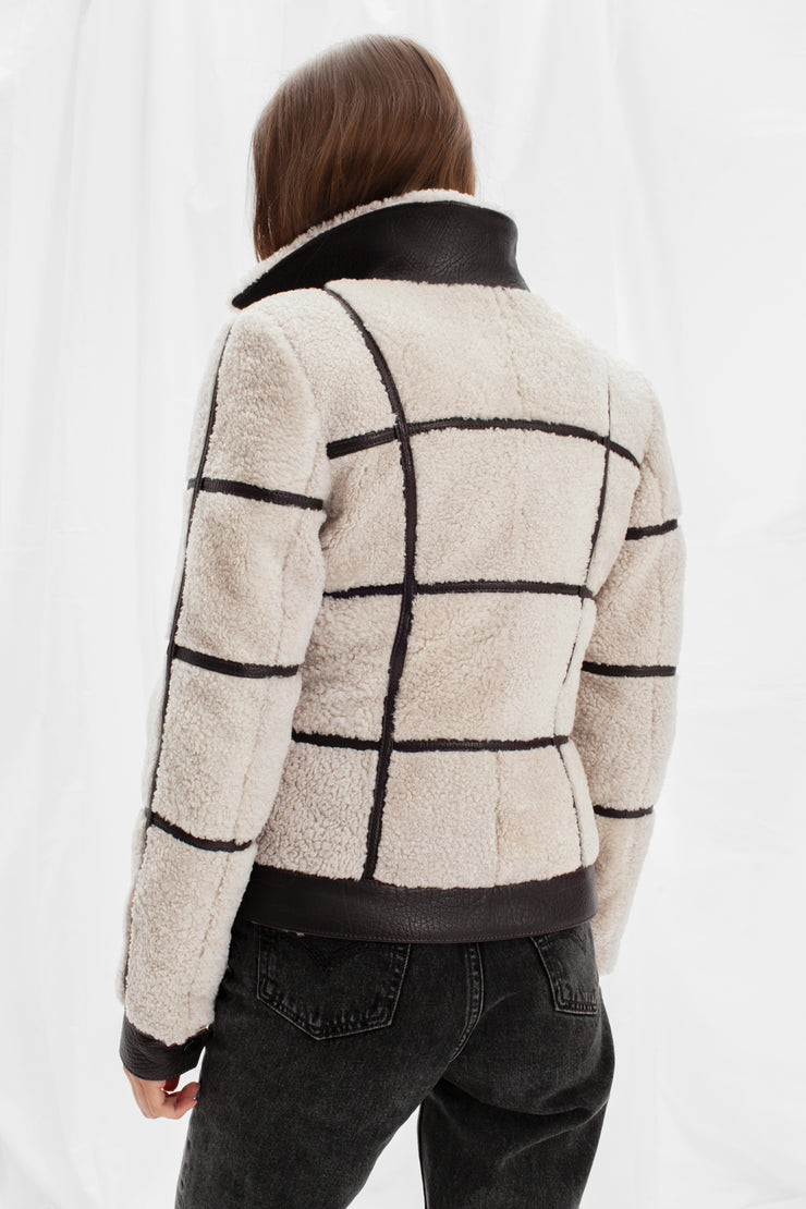 SALE – Shearling jacket