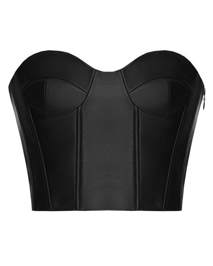 SALE – Leather corset