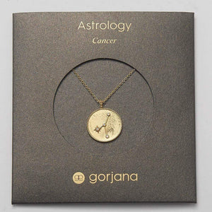 Astrology Coin Necklace (Cancer)