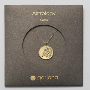 Astrology Coin Necklace (Libra)