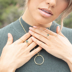 Hudson Ring Set (set of 3)