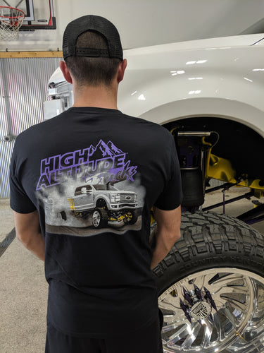 High Altitude Trucks Burnout shirt