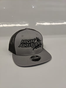 New Era 9FIFTY Gray and Black Hat