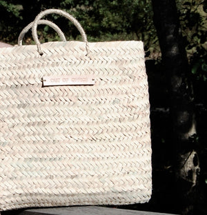 "Panier Tote ""out of office"""