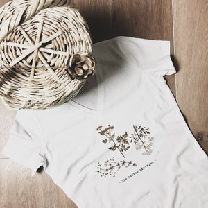 "T-shirt ""les herbes sauvages"""