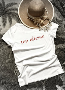 "teeshirt ""ton altesse"" - VENDREDI AFTERNOON"