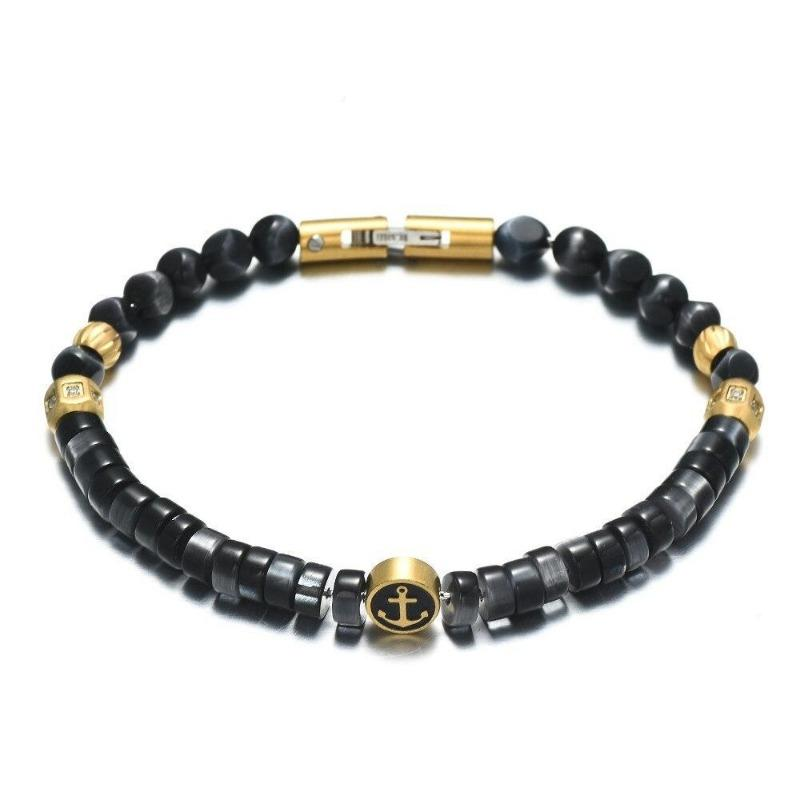 bracelet ancre homme luxe