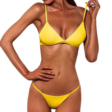 Load image into Gallery viewer, Women Push-Up Padded Bra Beach Bikini Set Swimsuit Swimwear