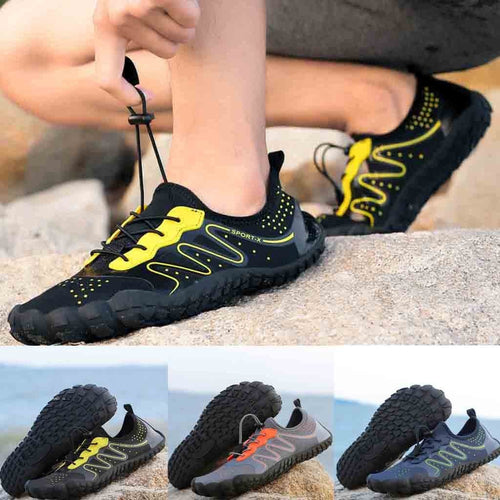 Unisex Quick-Dry Water Shoes Pool Beach Swim Drawstring Shoes Creek Diving Shoes
