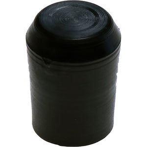 #315 12mm Black Round Cap H/Duty