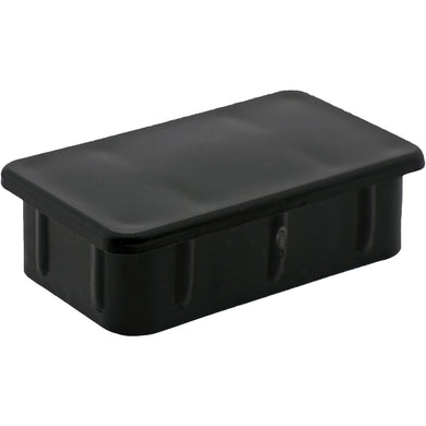#406 Rectangle Plug  63.5x38.1mm