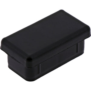 #456 Rectangle Plug 35x19mm Smooth Sides