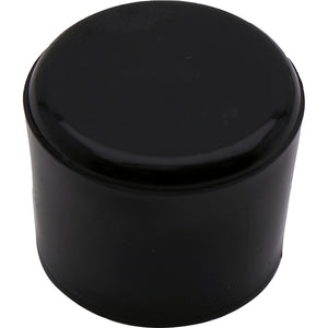 #631 19mm Black Round Cap Heavy Duty