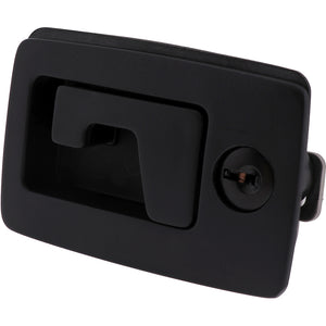 #3263 Lift & Turn Comp Latch Black Keylocking