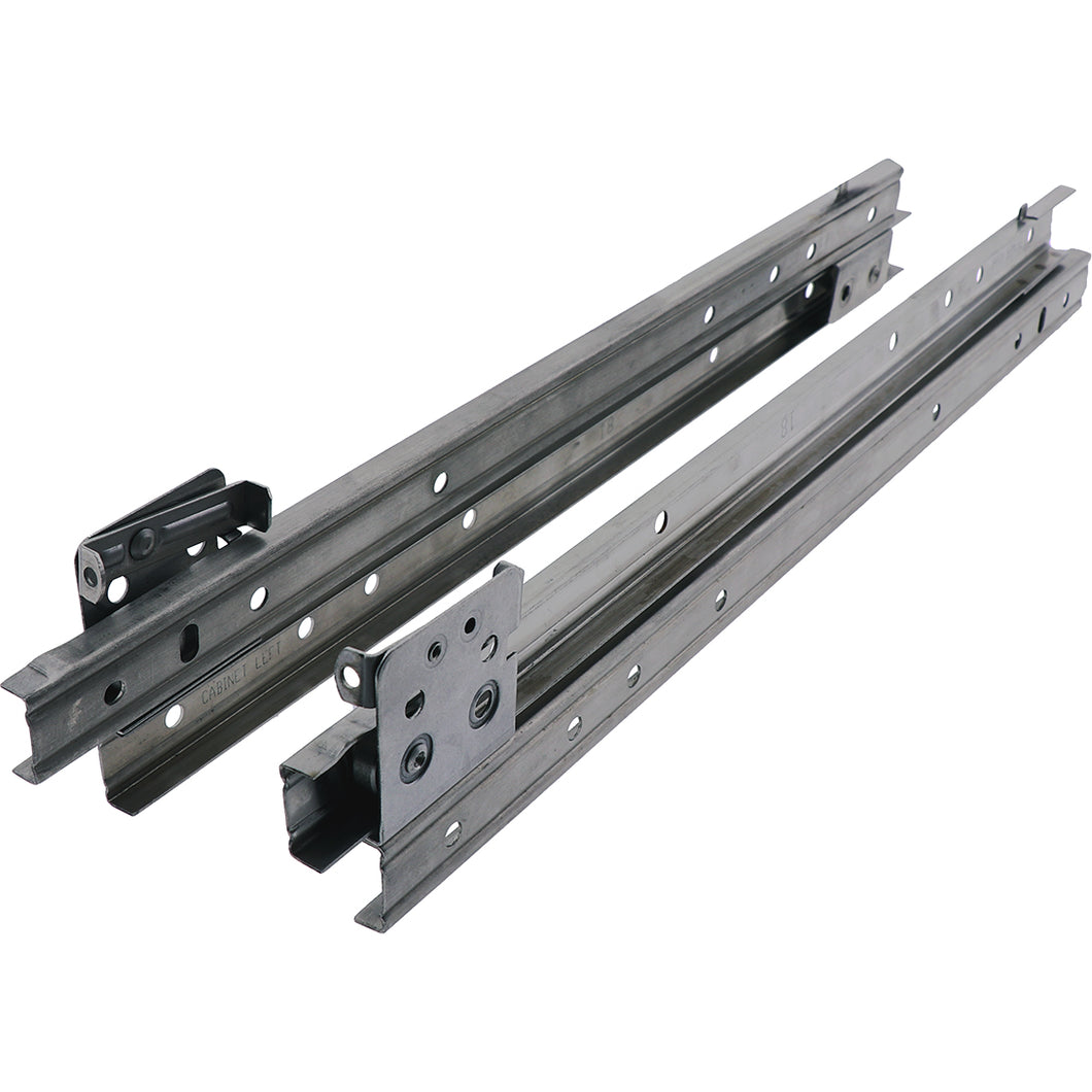 #4454 Drawer Slides Pair SS 650mm 67Kg Load Rated