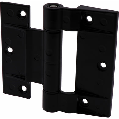 #9160 Black Zinc Powder Coated Door Hinge