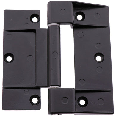 #9161 Black Zinc Powder Coated Door Hinge