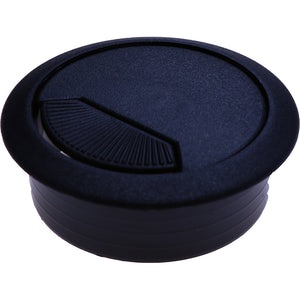 #9935 Black Cable Entry Cover 60mm