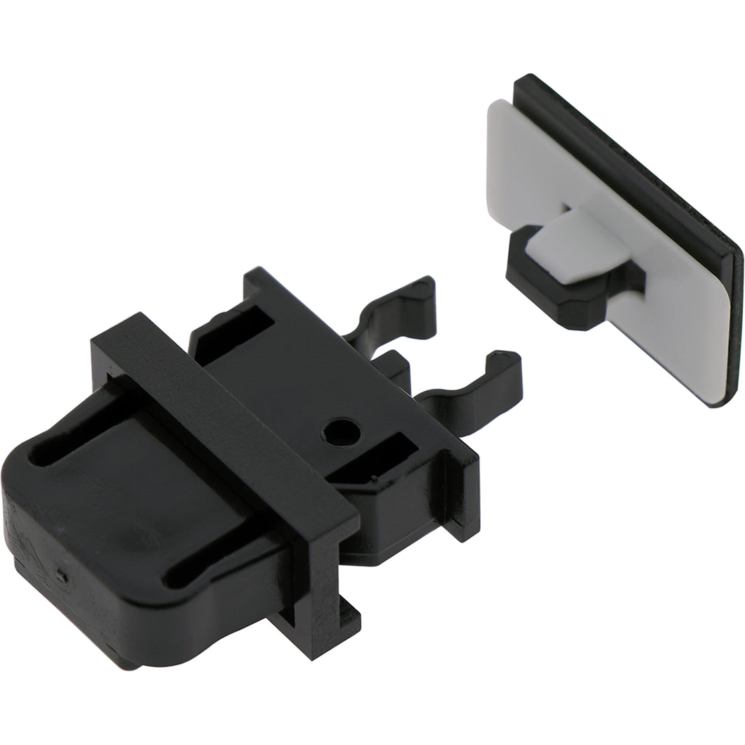 #10676 Black Latch Concealed Push to Close
