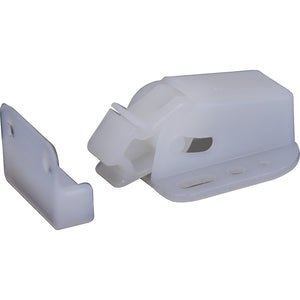 #10691 Snappy Panel Latch - White