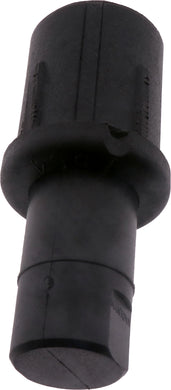 #51504 Round Black Adjustable Bullet Foot 50.8mm