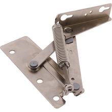 Load image into Gallery viewer, #52891 Flap Spring Hinge Nickel RH 118mm 90deg