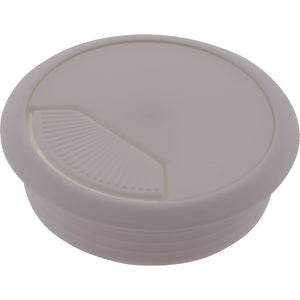 #56096 White Cable Entry Cover 80mm