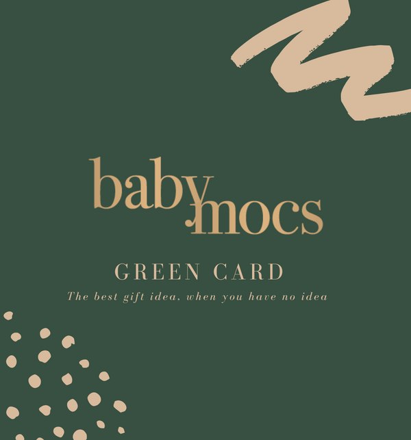 BabyMocs digital green gift card