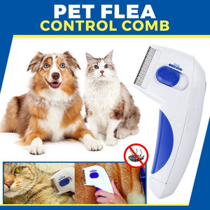 Pet Flea Control Comb