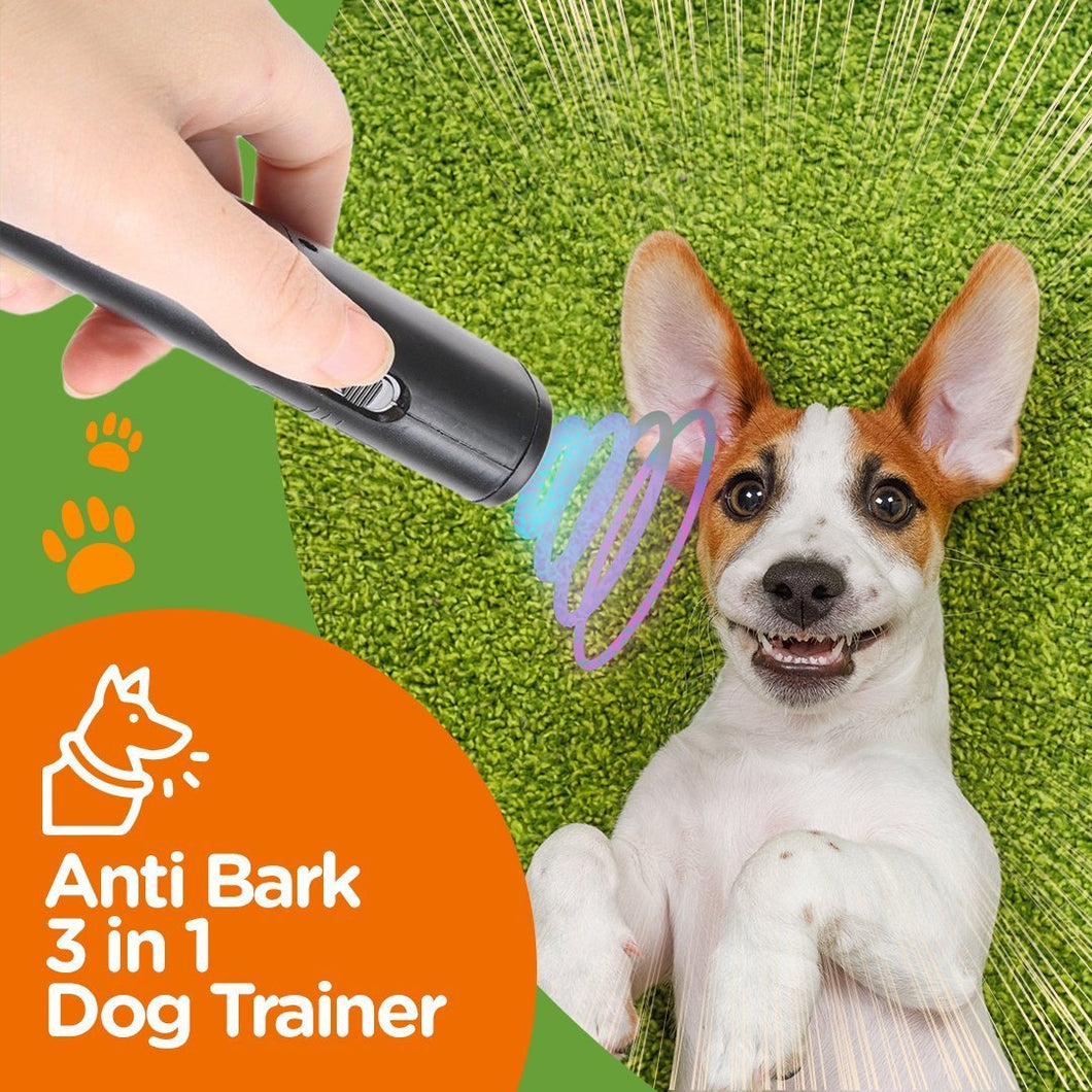 Anti Bark 3 in 1 Dog Trainer