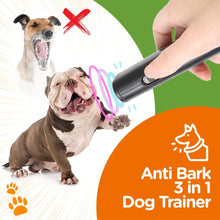 Load image into Gallery viewer, Anti Bark 3 in 1 Dog Trainer