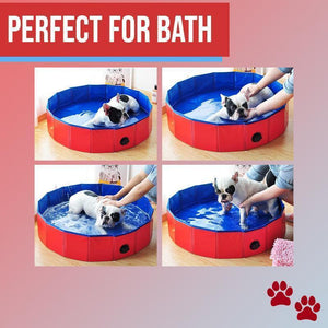 Foldable & Collapsible Pet Swimming Bath Pool