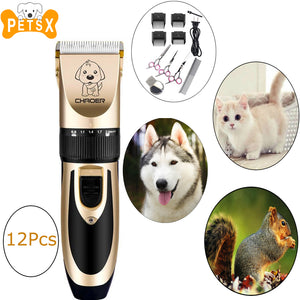 Electric pet Trimmer Hair Clipper Kit