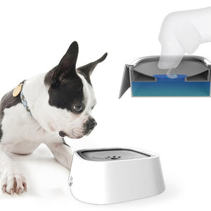 Large Spillproof Gravity Pet Water Bowl Dispenser Waterer for Cats and Dogs