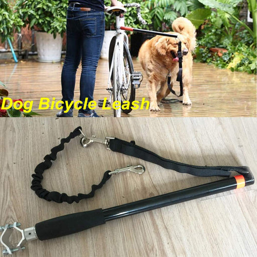 Hands Free Dog Pet Leash Bicycle Dog Exerciser Leash
