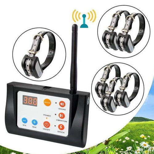 2 IN 1 Magic Wireless Dog Fence