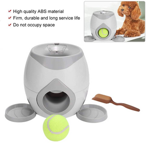 Automatic Ball Pet Toy Dog Training Feeder
