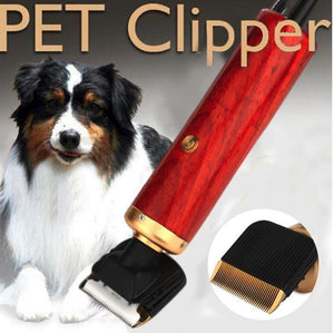 Pet Hair Trimmer or Clipper Kit for Grooming Pets Dogs Cats