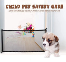 Load image into Gallery viewer, Magic Gate Dog Pet Fences Portable Folding Safe Guard Indoor and Outdoor