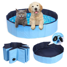 Load image into Gallery viewer, Foldable & Collapsible Pet Swimming Bath Pool