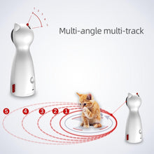 Load image into Gallery viewer, LED Laser Cat Toy Funny Smart Automatic Cat Toys