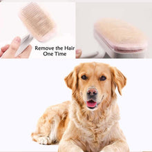 Load image into Gallery viewer, High Quality Pet Products Pet Comb For Dogs Grooming Toll Automatic Hair Brush Remover Dog Cat Comb-Dog Combs-MyChangPet Store-Blue-M-EpicWorldStore.com