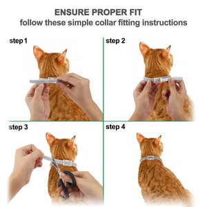 NEW 8 Months Flea & Tick Prevention Collar For All Sized Cats Dogs