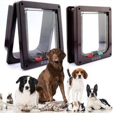 Load image into Gallery viewer, 4-Way Locking Cat Flap Safe Gate Door