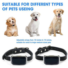 Load image into Gallery viewer, Waterproof Pet Collar GPS Tracker for Pets