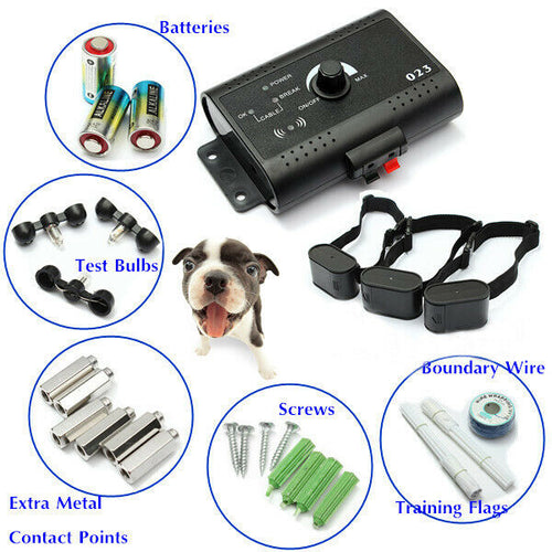 Dog Shock Containment System Electric Boundary Control Fence