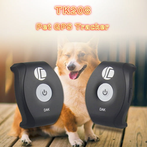 Mini GPS Tracker with Pet Collar