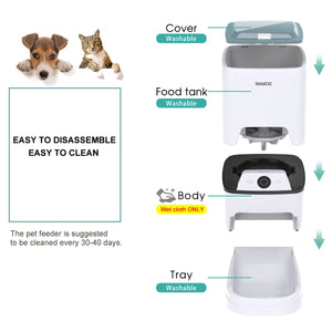 Remote Automatic Smart Cat Dog Feeder