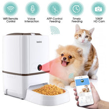 Load image into Gallery viewer, Remote Automatic Smart Cat Dog Feeder