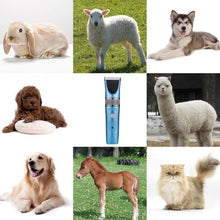 Load image into Gallery viewer, Dog Clippers Cordless Dog Grooming Clippers Kit